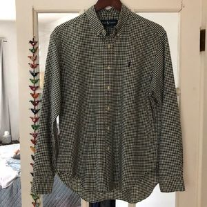 Ralph Lauren Classic Long Sleeve Button Down L